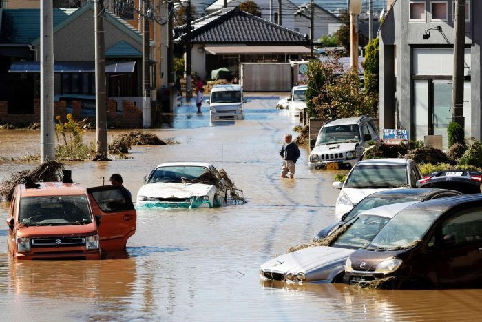 TYPHOON HAGIBIS: 18 Dead, 20 missing and 150 injured in Japan