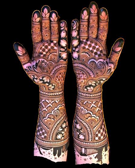 Full Hand Beautiful Arabic Designs