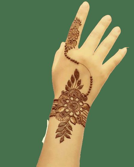 best mehndi design for hand