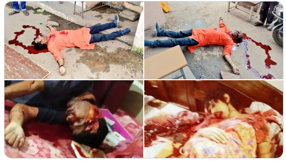 RSS worker and his family brutally murdered   (8 MONTH PREGNANT WIFE)