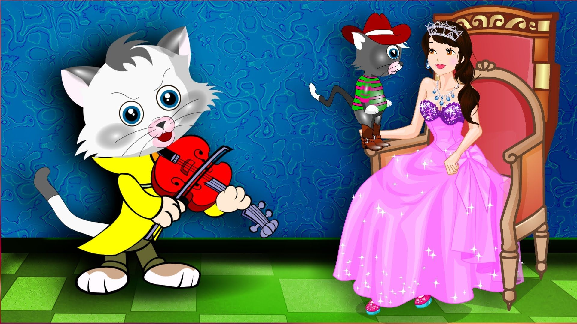 "Nursery Rhymes – Kids Songs Baby songs ""Pussy Cat, Pussy Cat"" – Kids Nursery Rhymes In English"
