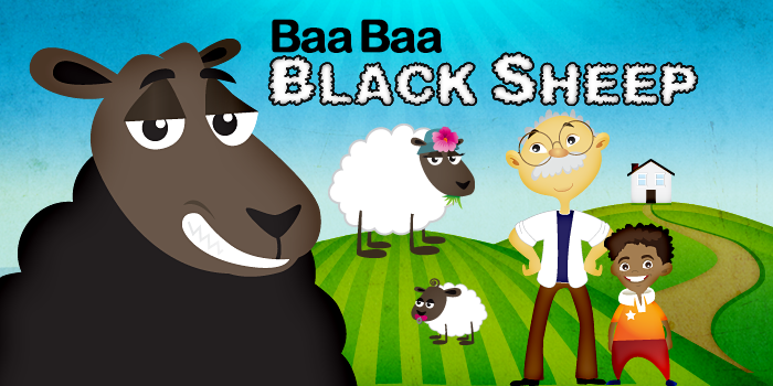 "Nursery Rhymes – Kids Songs Baby songs ""Baa, Baa, Black Sheep/ Baba Black Sheep"" – Kids Nursery Rhymes In English"