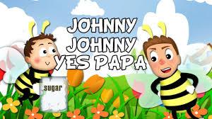 """Nursery Rhymes – Kids Songs Baby songs """"Johny Johny Yes Papa"""" – Kids Nursery Rhymes In English"""