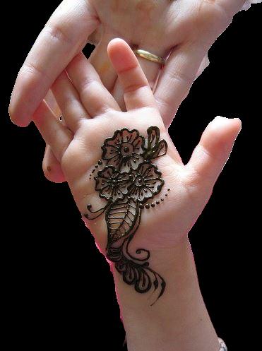 little girl design for hands
