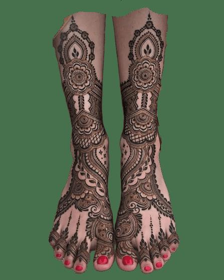 Dulhan Designs for Full Legs 2020