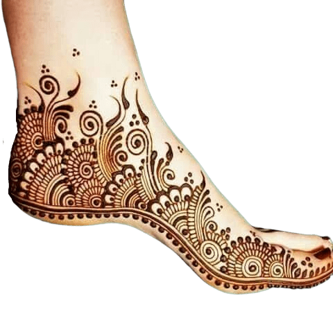 Simple designs for feet