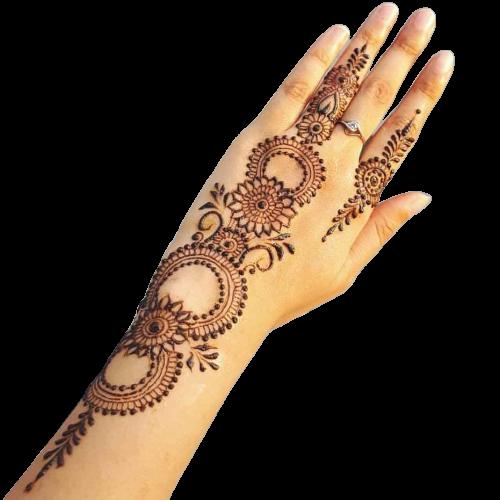 back hand design