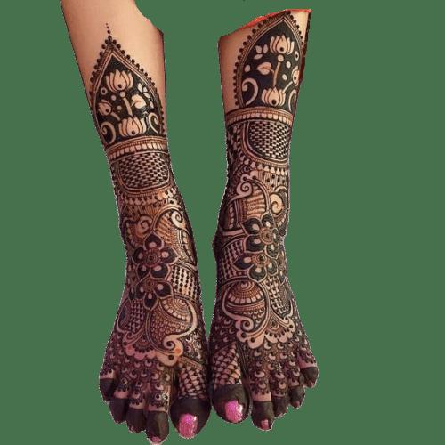Dulhan Designs for Full Legs