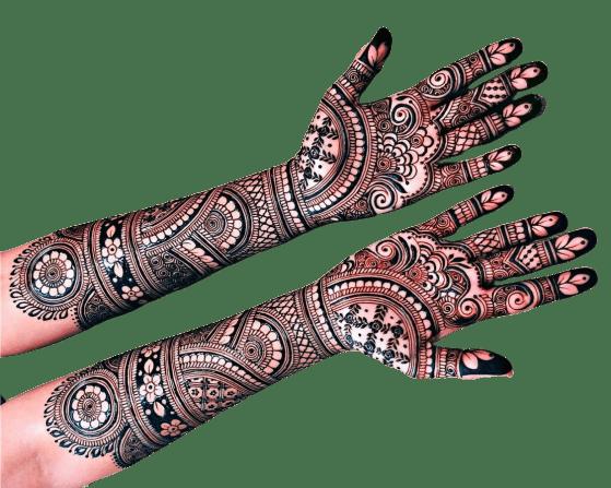 henna Designs for Full hands