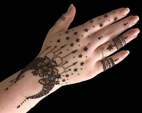 Eid Mehndi Design (Back hand)