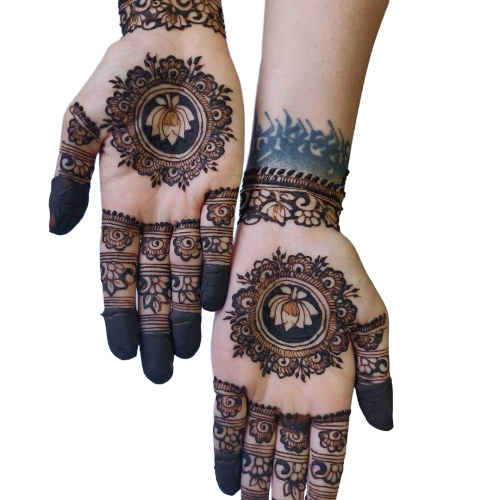 lotus pattern for hands
