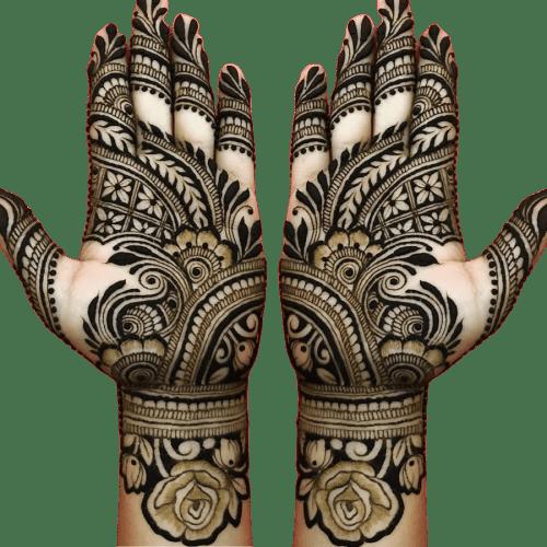 rose pattern design