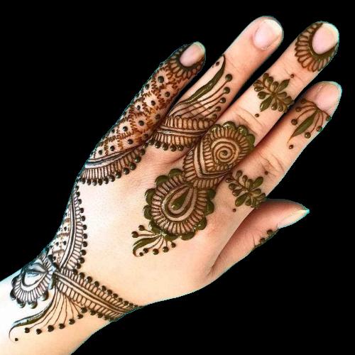karwa chauth design for fingers