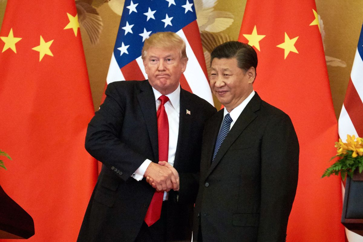 China and U.S Meeting on Trade War