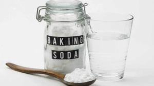 Baking soda for oral hygiene care and dental care