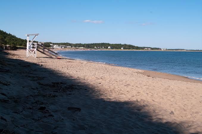 popham beach, portland maine