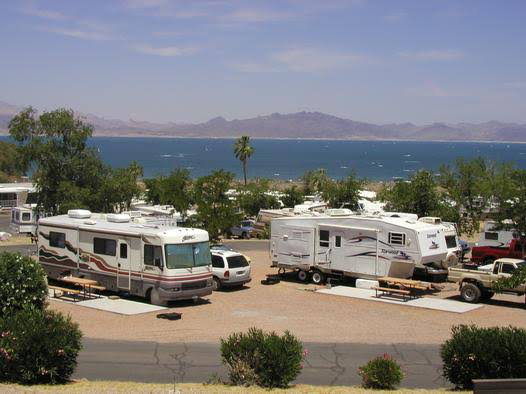 Boulder Beach & RV village at Lake Mead