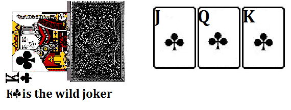wild joker in rummy