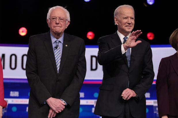 Joe Biden vs. Bernie Sanders is somewhat One-Sided in the state of Michigan