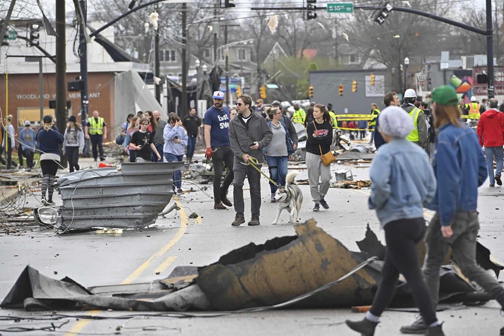 Furious Tornado Strikes Tennessee: 22 Dead