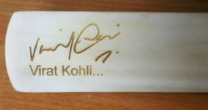 Virat Kohli Signature Autograph