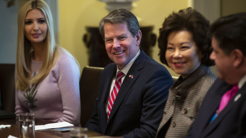 Kemp Opening Businesses In Georgia Was Not Trump's Idea