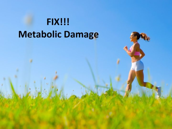 How to Fix Metabolic Damage in the Body?