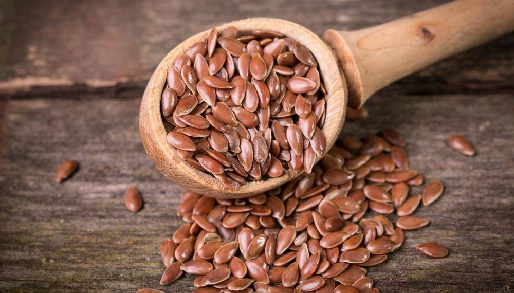 Flaxseeds & oil are high in omega-3 fatty acids