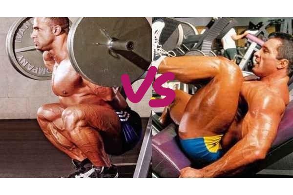 leg press vs squats
