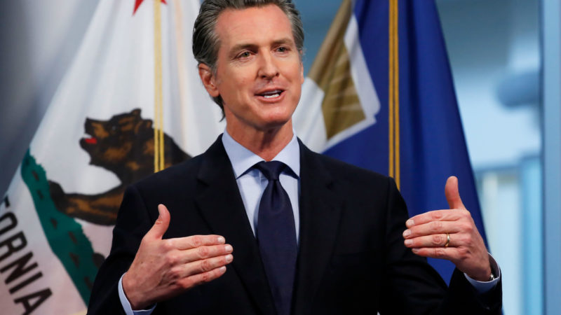 Gov. Newsom Announces Rules To Reopen Malls And Restaurants Of California