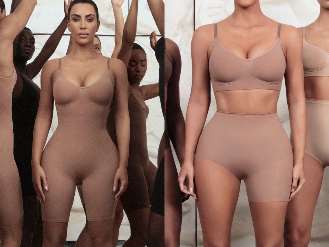 "Kim Kardashian Launched new Shape wear brand ""SKIMS"""