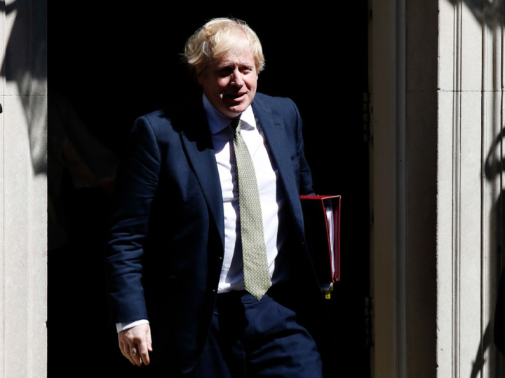The U.K. could lift restrictions soon, Prime Minister Boris Johnson