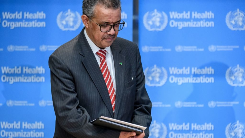 WHO Director Tedros Adhanom warns about the risks of easing lockdowns early