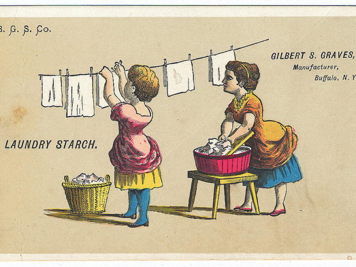 HOW TO USE LAUNDRY STARCH AND SIZING