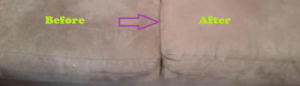 sofa cleaning with rubbing alcohol