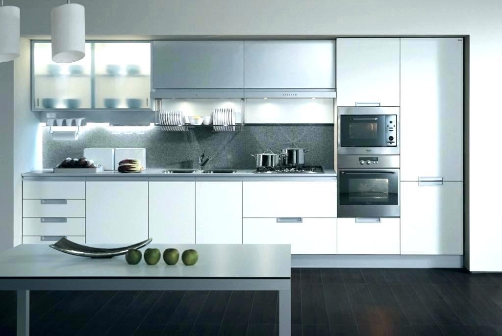ultra modern white kitchen cabinets